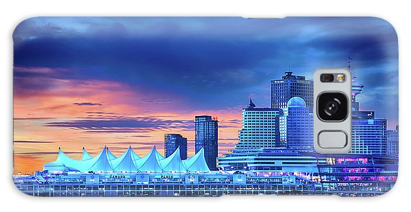 Galaxy Case featuring the photograph Good Morning Vancouver by John Poon