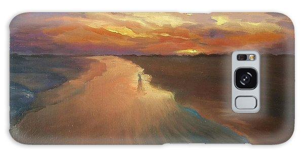 Good Night Galaxy Case by Alla Parsons