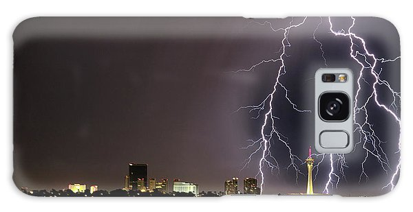 Galaxy Case featuring the photograph Good Night Everybody by Michael Rogers