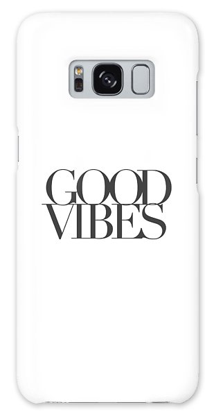 Motivational Galaxy Case - Good Vibes by Cortney Herron