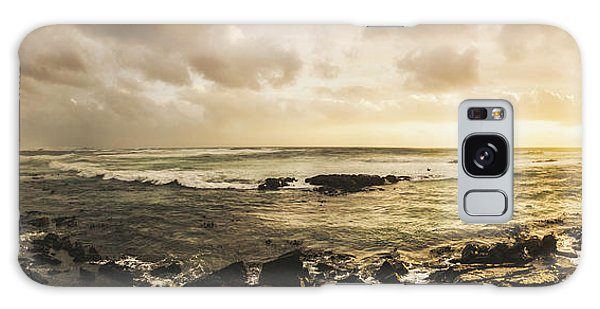 Tides Galaxy Case - Goodbye Sunshine by Jorgo Photography - Wall Art Gallery