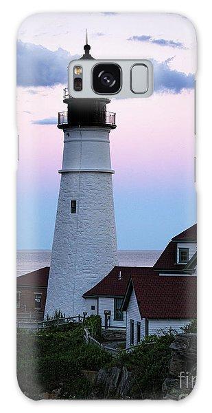 Goodnight Moon, Goodnight Lighthouse  -98588 Galaxy Case by John Bald