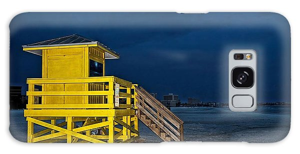 Goodnight Siesta Key Galaxy Case