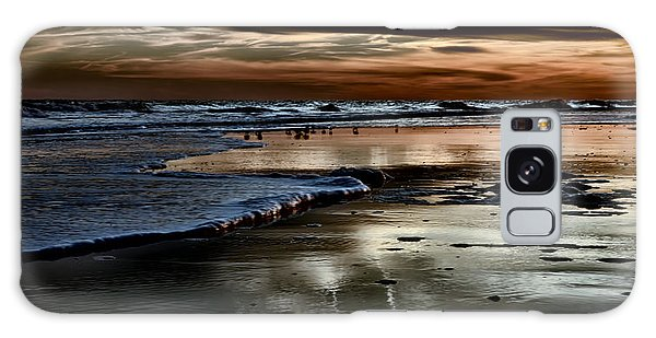 Goodnight Sun Isle Of Palms Galaxy Case