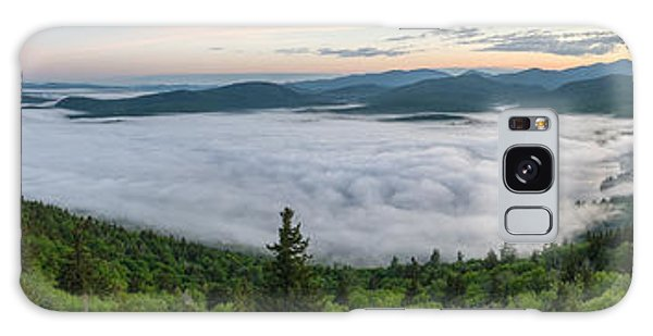 Goodnow Mountain Panorama Galaxy Case
