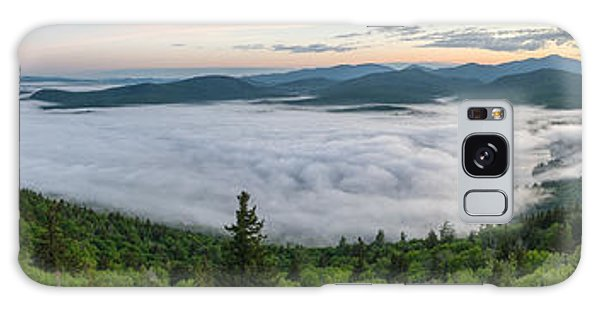 Goodnow Mountain Panorama Galaxy Case