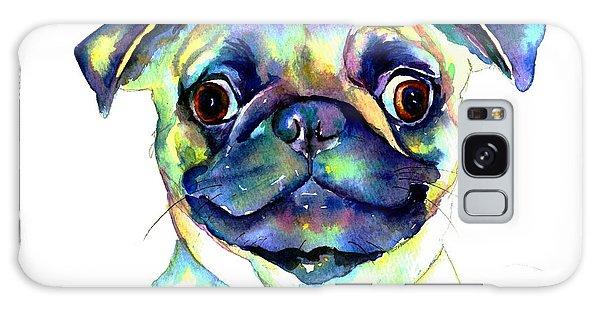 Google Eyed Pug Galaxy Case