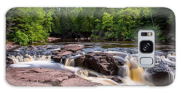 Goose Berry River Rapids Galaxy Case by Paul Freidlund