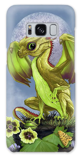 Gooseberry Dragon Galaxy Case by Stanley Morrison