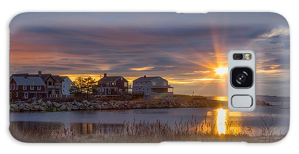 Goosefare Brook Sunrise - Saco Maine Galaxy Case