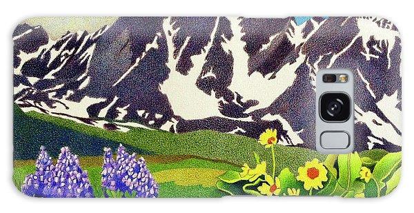 Gore Range Wildflowers Galaxy Case