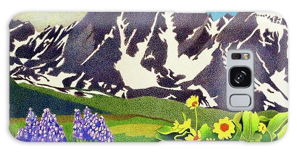 Gore Range Wildflowers Galaxy Case