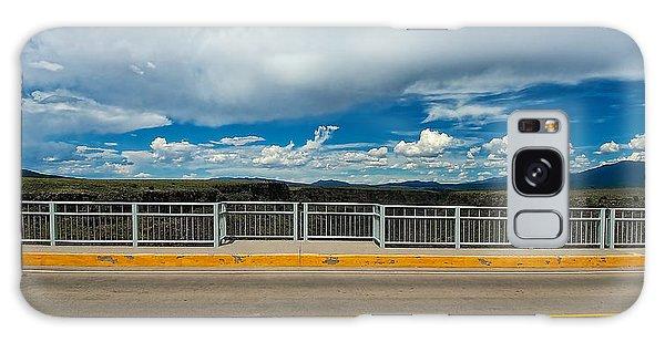 Gorge Bridge North View Galaxy Case