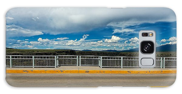 Gorge Bridge North View Galaxy Case