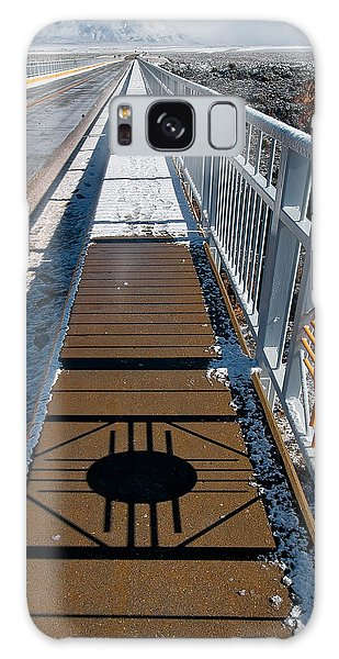 Gorge Bridge Zia Symbol Galaxy Case by Britt Runyon