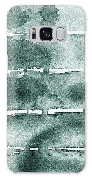 Tint Galaxy Case - Gorgeous Grays Abstract Interior Decor Ix by Irina Sztukowski