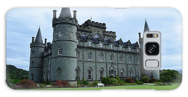 Gorgeous View Of Inveraray Castle Galaxy Case