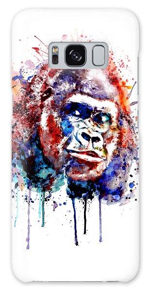 Gorilla Galaxy S8 Case - Gorilla by Marian Voicu