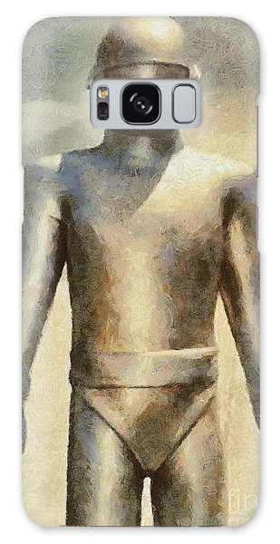 Dracula Galaxy Case - Gort From The Day The Earth Stood Still by Mary Bassett