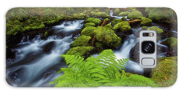 Gorton Creek Fern Galaxy Case by Darren White