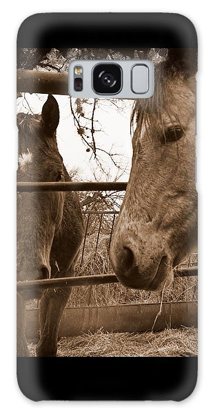 Gossip At The Fence Galaxy Case