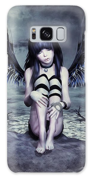 Goth Fairy Galaxy Case