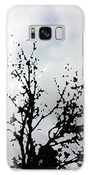 Goth Tree Clouded Sky Galaxy Case