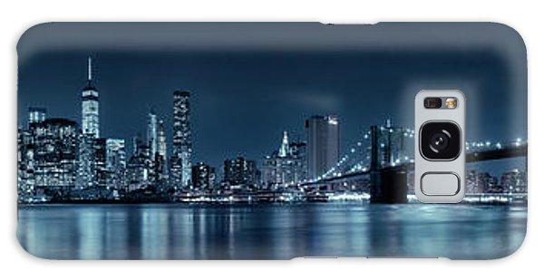 Gotham City Skyline Galaxy Case by Sebastien Coursol