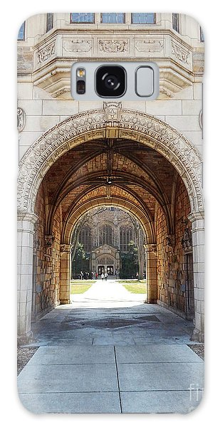 Gothic Archway Photography Galaxy Case