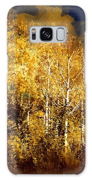 Gothic Aspen Trees Galaxy Case