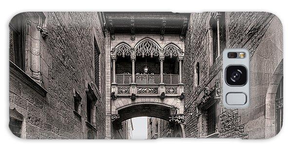 Gothic Barcelona Galaxy Case