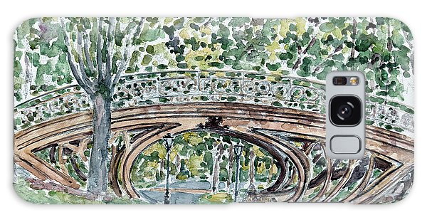 Central America Galaxy Case - Gothic Bridge, Central Park by Anthony Butera