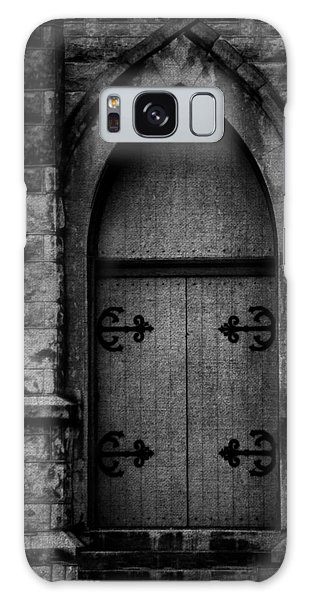 Gothic Door Memphis Church Bw Galaxy Case