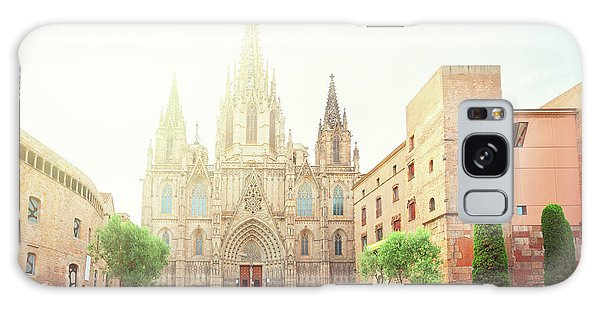Gotic Cathedral  Of Barcelona Galaxy Case