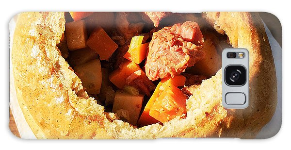 Food And Beverage Galaxy Case - Goulash In Bread - Hungarian Food by Matthias Hauser
