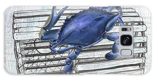 Galaxy Case - Gourmet Shellfish 1 by Debbie DeWitt