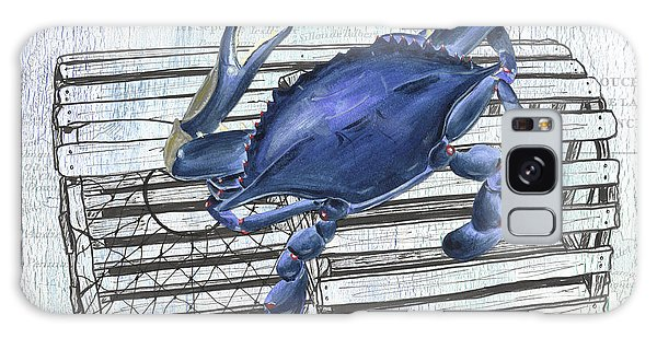 Claws Galaxy Case - Gourmet Shellfish 1 by Debbie DeWitt