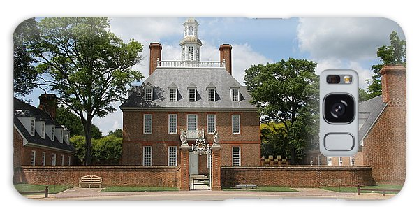 Governers Palace - Williamsburg Va Galaxy Case