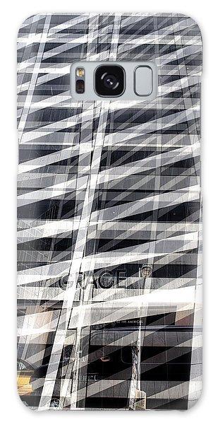Grace Building Collage 2 Galaxy Case