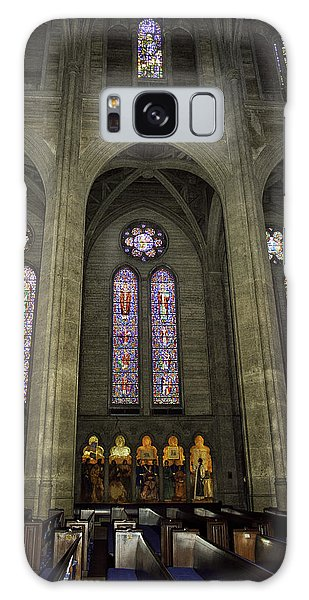 Grace Cathedral Stained Windows Galaxy Case