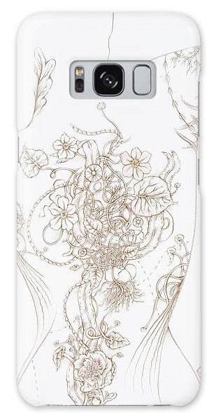 Grace Galaxy Case by Karen Robey