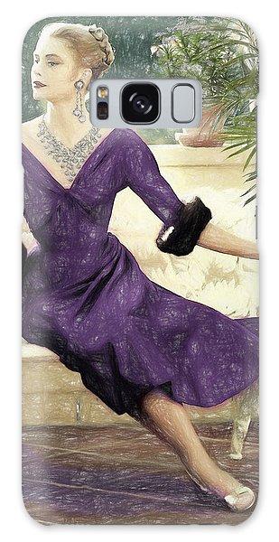 Grace Kelly Draw Galaxy Case