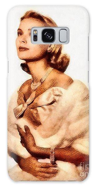 Grace Kelly, Vintage Actress By John Springfield Galaxy Case