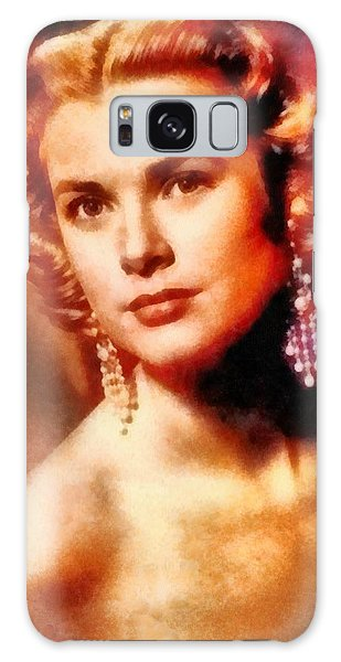 Grace Kelly, Vintage Hollywood Actress Galaxy Case
