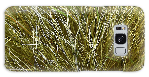 Graceful Grasses Galaxy Case