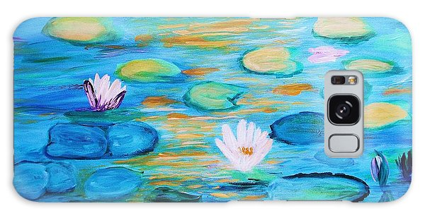 Graceful Pond From The Water Series Galaxy Case by Donna Dixon