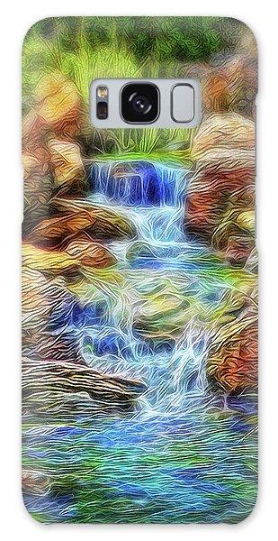 Graceful Waters Galaxy Case