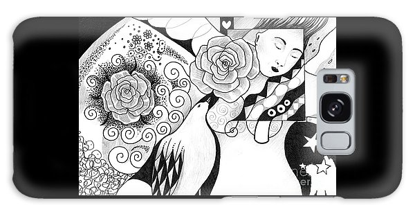 Gracefully Galaxy Case by Helena Tiainen