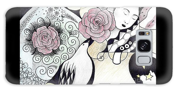 Gracefully - In Color Galaxy Case by Helena Tiainen