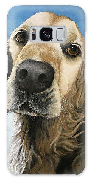 Gracie - Golden Retriever Dog Portrait Galaxy Case